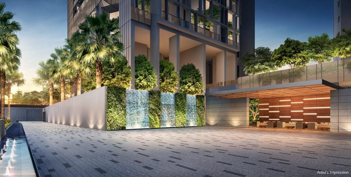 Commonwealth Towers Condominium Arrival Court