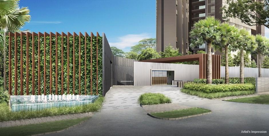 Commonwealth Towers Condominium Entry Court