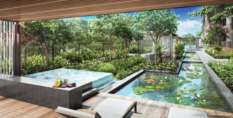 Commonwealth Towers Condominium Spa Pavilions with Jacuzzi