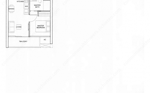 Commonwealth Tower Condominium Type (1)f - 1 Bedroom
